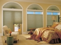 Applause® honeycomb shades in the bedroom