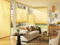 Applause® honeycomb shades in the family room