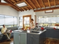 Applause® honeycomb shades in the kitchen