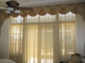 Sheer Draperies With Swags