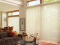 Luminette® Privacy Sheers in the family room
