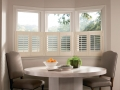 Newstyle™ hybrid shutters in the kitchen