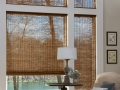 Provenance® Woven Wood Shades in the den