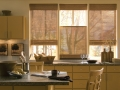 Provenance® Woven Wood Shades in the kitchen