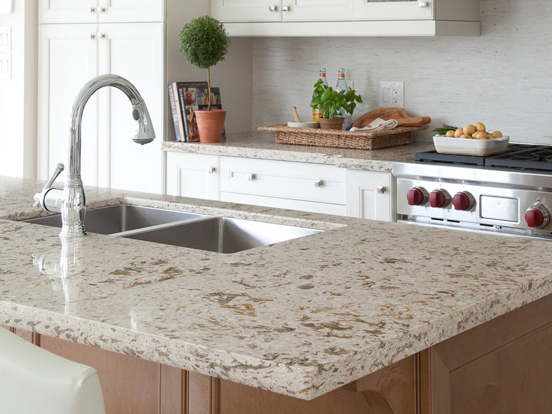 Quartz countertops kitchen bath counters phoenix az for Who makes quartz countertops