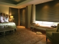 Silhouette® window shadings in the bedroom