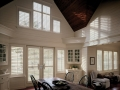 Heritance® hardwood shutters in the dining room