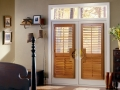Heritance® hardwood shutters in the bedroom