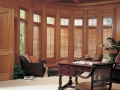 Heritance® hardwood shutters in the office