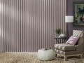 Somner® Custom Vertical Blinds in the bedroom