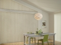 Somner® Custom Vertical Blinds in the kitchen