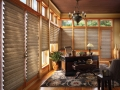 Vignette® Modern Roman Shades in the office