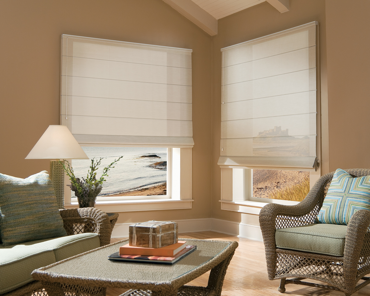 Window treatments from outside surprise az showroom for Blinds types of window treatments