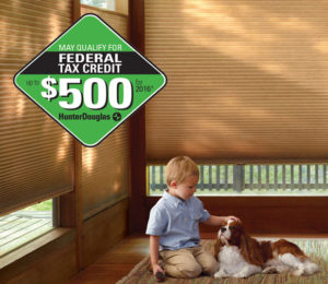 2106 Federal Tax Credit for Energy Saving Shades