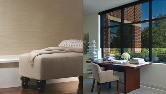 Hunter Douglas Designer Roller Screen Shades Phoenix