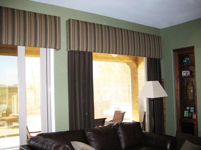 With The Right Styles Of Valances And Cornices You Can Add A Touch Cl To Your Curtains D