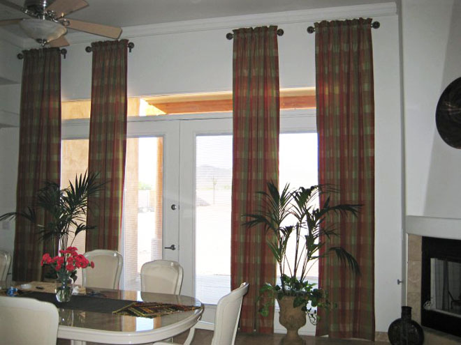 Custom Curtains Draperies Drapery Panels Peoria Surprise Az