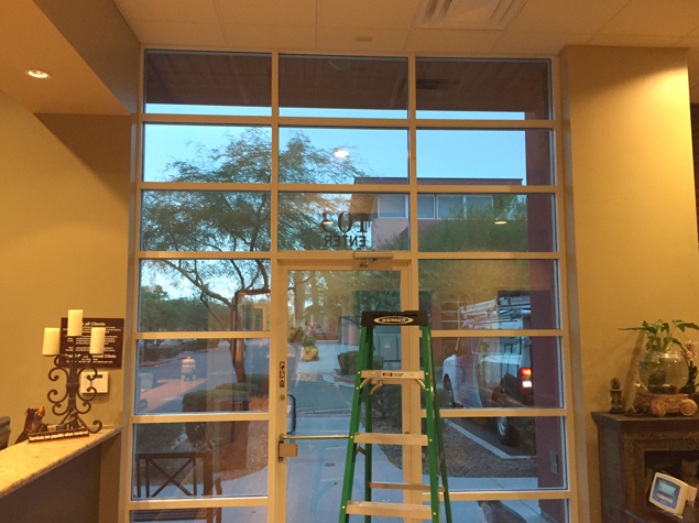 The Clinic Called Altra Home Decor A Local Window Treatment Company To See What Options Were Available During Consultation It Was Clear That