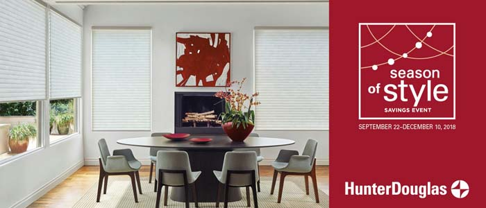 By Altra Home Decor Hunter Douglas Is At It Again Theres A New Rebate Event And If Youre In The Market For Window Treatments You Wont Want To Miss